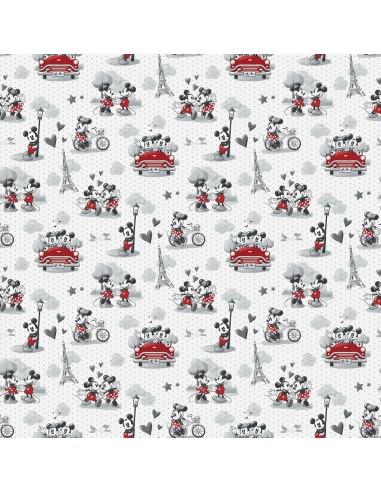 Tkanina bawełniana Myszka Miki...