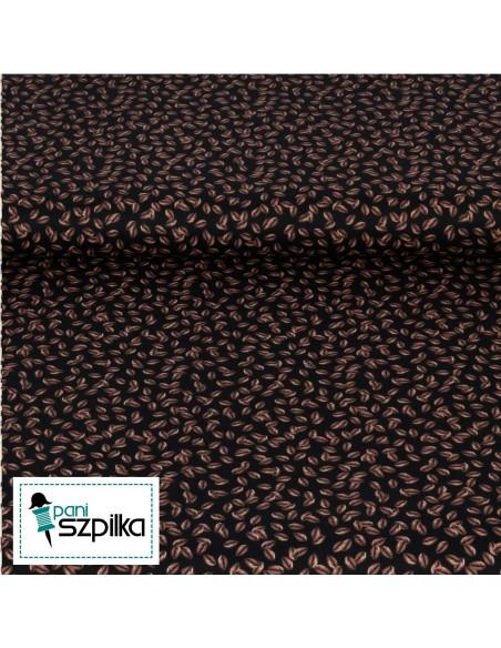 Tkanina bawełniana Espresso Coffee Beans