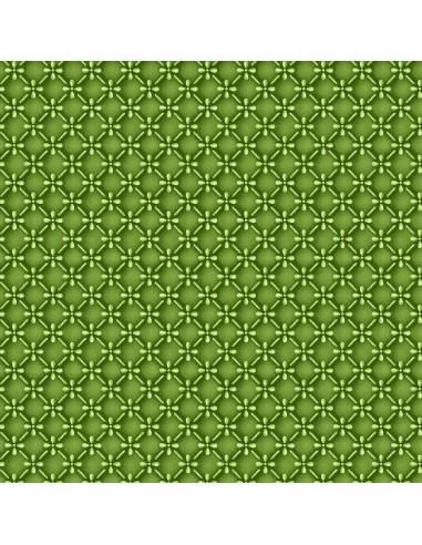 Emma's Garden Green Dimensional Geo...