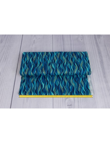 Dancing Waves kupon 47 cm x 110 cm