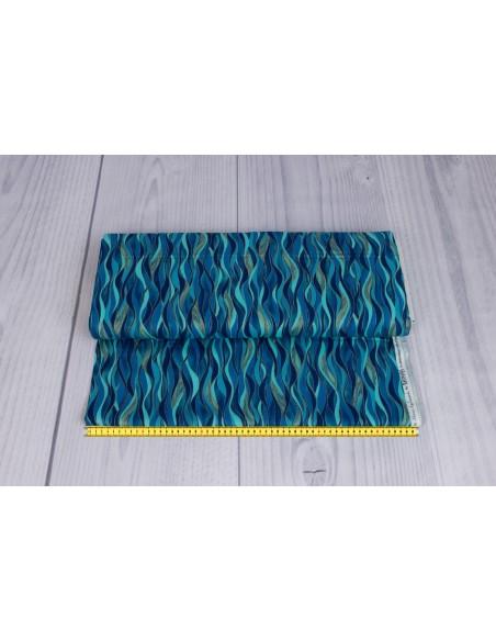 Dancing Waves kupon 75 cm x 110 cm