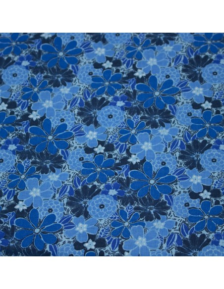 Tkanina bawełniana Blue Blenders 5