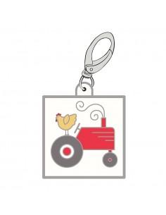 "Happy Charm ""Farm Tractor""..."