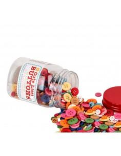 Zestaw słodkich guzików...