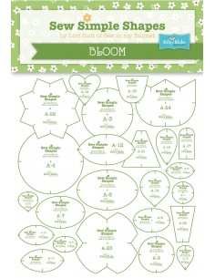 "Zestaw 24 szablonów ""Bloom""..."