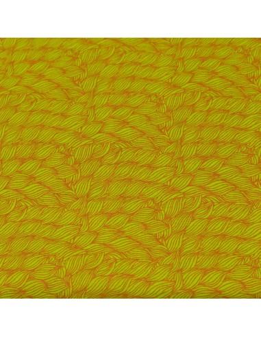 Green Blenders 10 tkanina bawełniana w liście