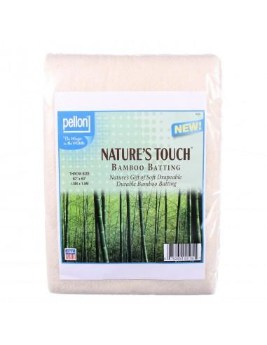 Wypełnienie bambusowe Throw 152 x 152 cm naturalne z siatką
