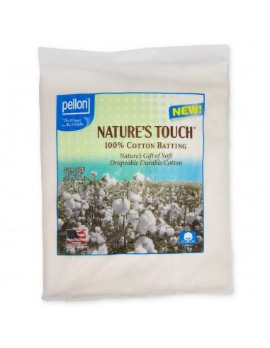 Wypełnienie bawełniane Pellon Full 205 x 243 cm naturalne z siatką