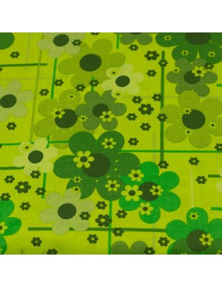 Green Blenders 9 tkanina bawełniana w kwiaty