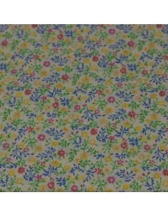 Tkanina bawełniana Floral...