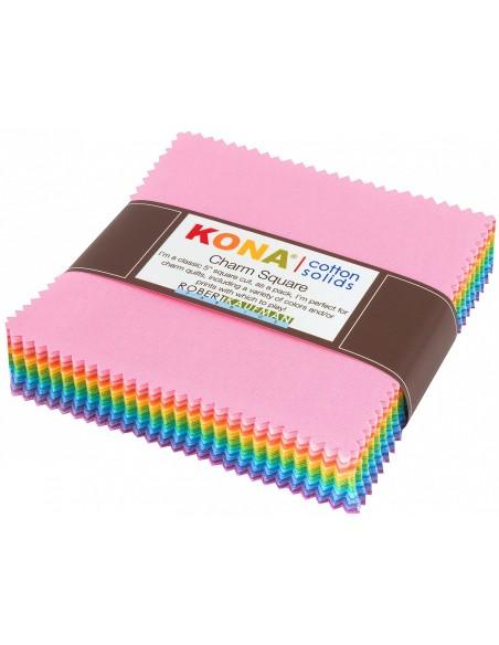 Charm Pack Kona Pastel 85 szt.