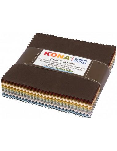 Charm Pack Kona Neutral 85 szt.