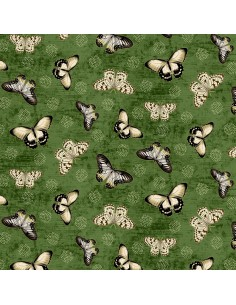 Cotton fabric Green...
