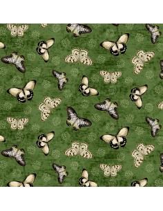 Tkanina bawełniana Green...