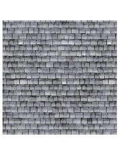 Cotton fabric Grey Shingle