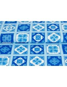 Tkanina bawełniana Blue...