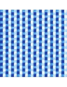 Tkanina bawełniana Blue Weave