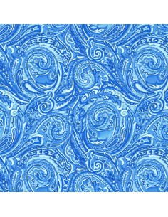 Blue Dreams: Blue Paisley...