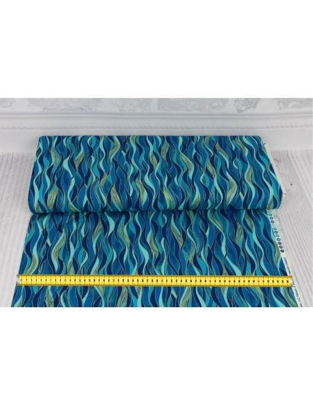 Dance of The Dragonfly Dancing Waves Benartex cotton fabric