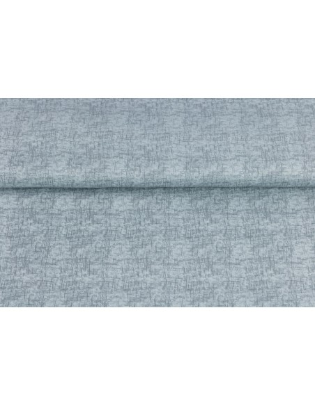 Tkanina bawełniana Silver Sketch Texture