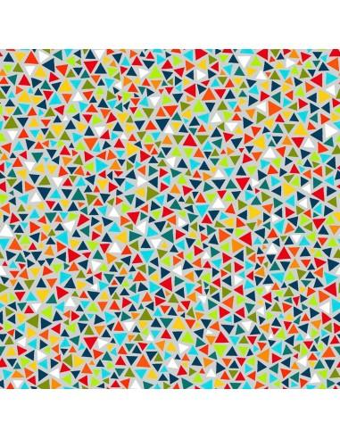 Tkanina bawełniana Multi Triangle