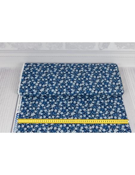 Tkanina bawełniana Indigo Small Floral