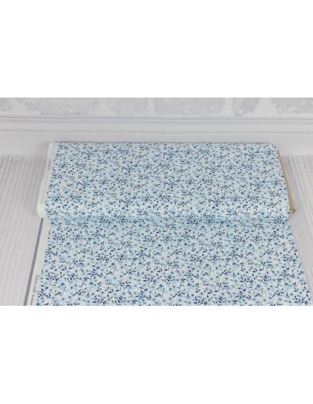 Tkanina bawełniana White Small Floral 50 x 110 cm