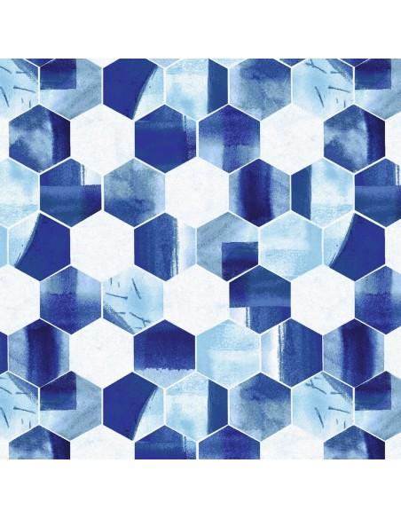 Tkanina bawełniana Hexagon