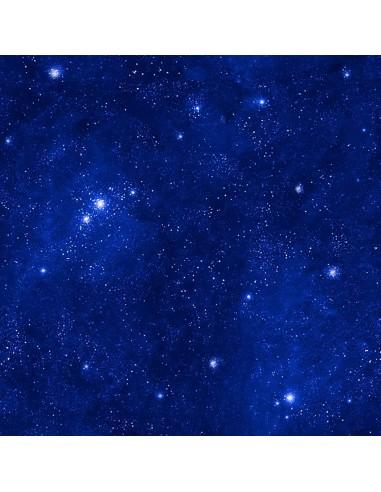 Tkanina bawełniana Navy Stars