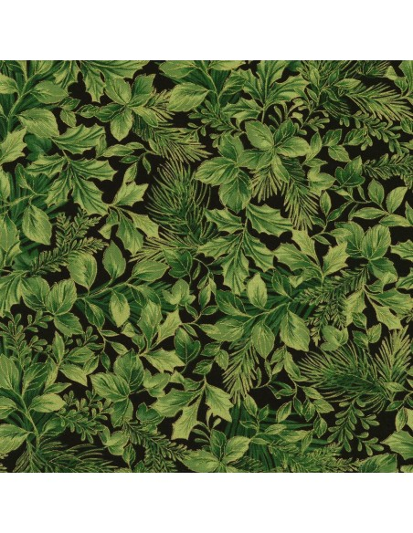 Tkanina bawełniana Pine Metallic