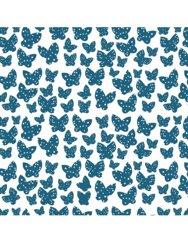 Lilla Azure Minna Windham cotton fabric