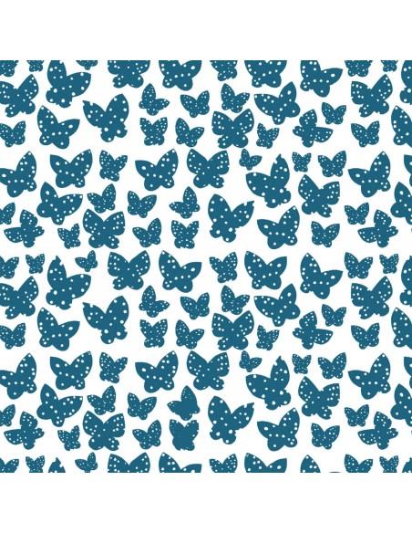 Lilla Azure Minna Windham cotton fabric