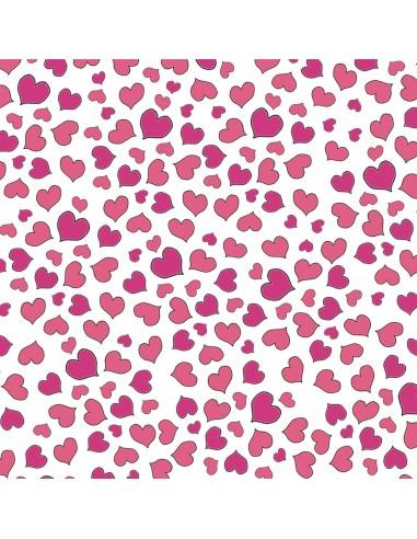 Kupon Hearts 50 cm x 55 cm (1FQ)