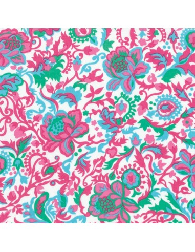 Sunny Isle Green Claire Free Spirit cotton fabric