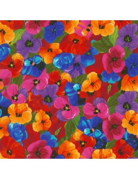 Multi Packed Flower kupon 18 cm x 110 cm