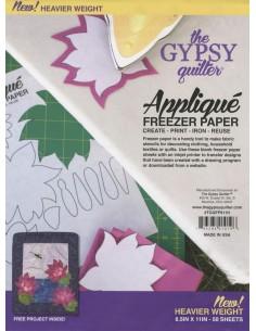 Freezer Paper 21cm x 28cm Gypsy Quilter grubszy do aplikacji