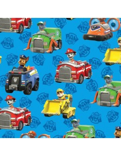 Paw Patrol blue cotton...