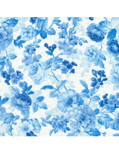 Mayfield Light Blue Floral...