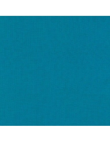 Tkanina bawełniana Kona Carribean turkusowa