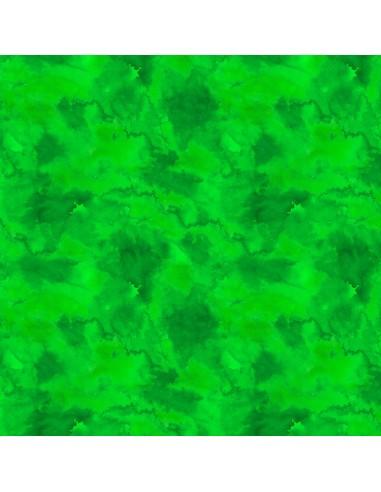 Tkanina bawełniana Green Water Texture