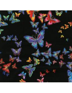 Butterfly Garden: Black...