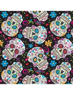 Black Folkloric Skulls...
