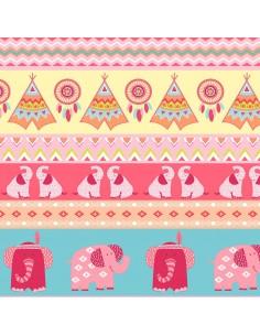 Tkanina bawełniana Pink...