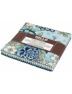 Charm pack Calista Teal 42...