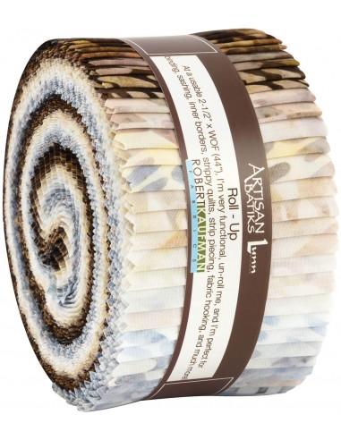 Jelly roll Artisan Batik Texture Study