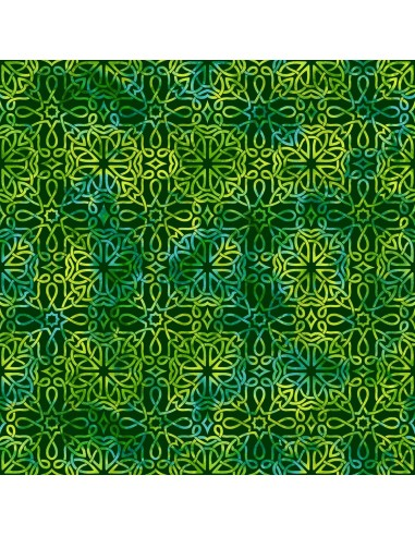 Emerald Celtic Knot Texture cotton...