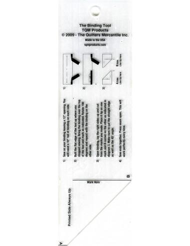Linijka szablon do łączenia lamówki