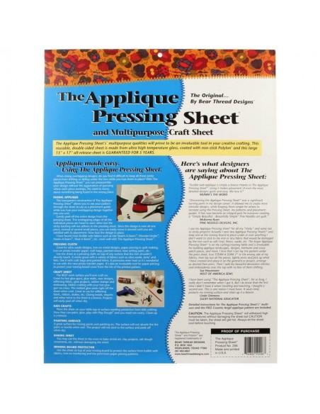 Arkusz do prasowania aplikacji 33 x 43 cm