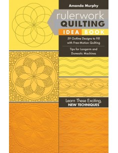 "Książka ""Rulerwork Quilting Idea Book"" Amanda Murphy"