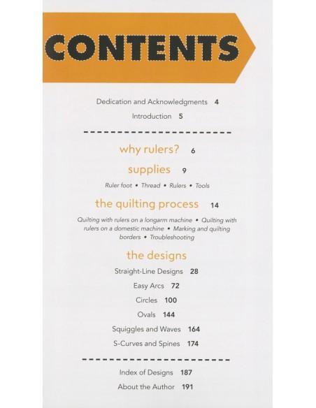 "Książka ""Rulerwork Quilting Idea Book"" Amanda Murphy"